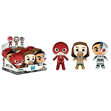 Justice League Movie Plush Figure 18 cm Display (9) Funko Peluches