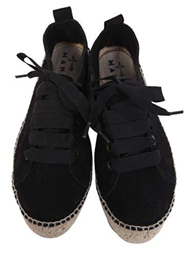 Sneakers Nero K10esuedeblack Donna Manebí Pelle 78dZwRq