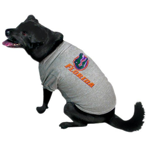 Team Pet T-shirt (NCAA Florida Gators Pet T-Shirt, Small, Team Color)
