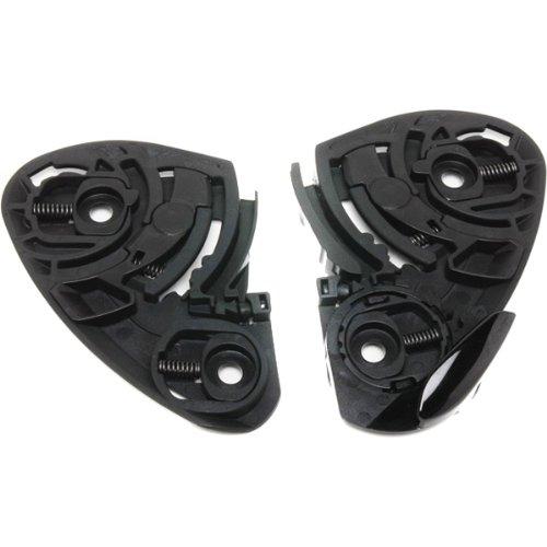Shoei Quick Release Self-Adjusting Base Plate Set RF-1100 Street Motorcycle Helmet Accessories - Color: Black by Shoei