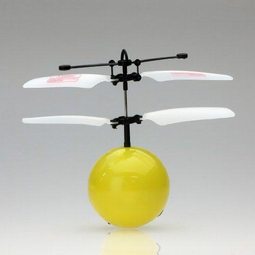 人気の赤外線ヘリ FlyingBall フライングボール (イエロー) 41qxofKemVL