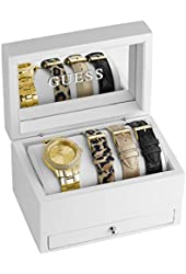 GUESS Gold-Tone Classic Sparkle Watch Set
