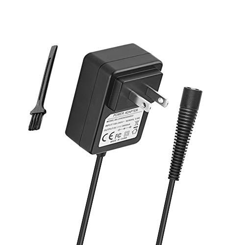 BENSN 6 Volt Shaver Charging Cord for Braun Series 5 Shaver 510 550 560 565cc 570cc 590cc 5417 5685 5751; Series 1 130 140 150; Cruzer5 Cruzer6 Beard and Head; Braun Waterflex WF1s / WFS2 Power Supply