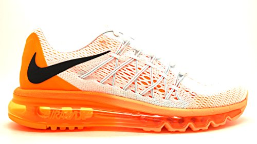 Nike [698903-102] Air Max 2015 Wmns Sneakers Voor Dames Nikewhite Black Brght Ctrsm
