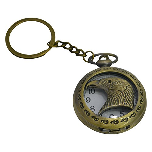 Collectible Keychain Watch (De Yarra EAGLE WATCH Metal Collectible Key Chain)