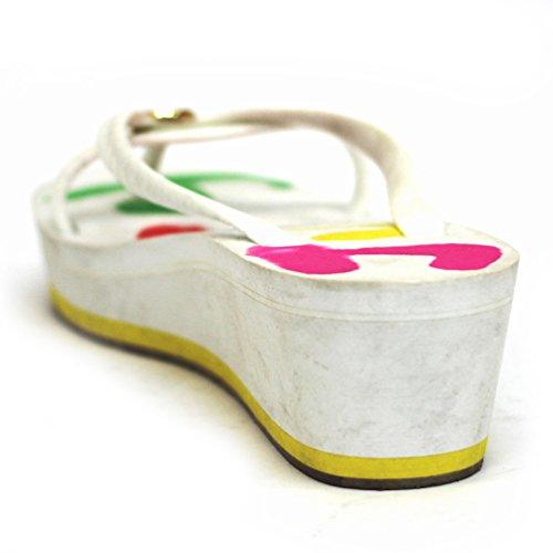 Diseño de impresión Juicy Couture con plataforma para colgar flip-flop Juicy cristales para muestras microscópicas, estándar del Reino Unido 3,5 RRP £69