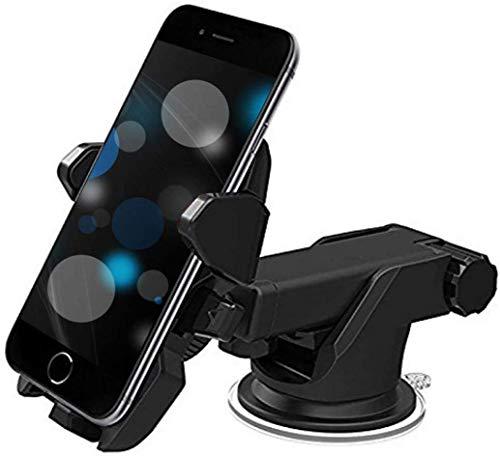 Bluedrum Car Mobile Holder for Windshield, Dashboard  Black