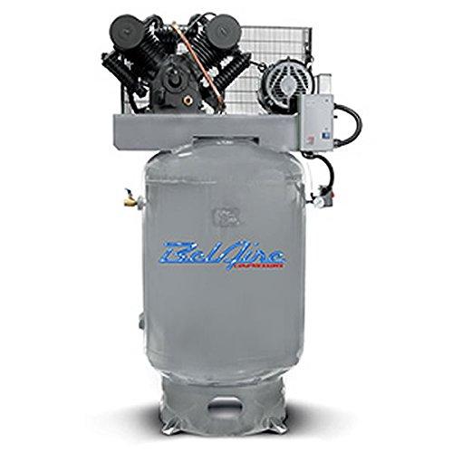 Amazon.com: BelAire 6312V 208 - 230-Volt 10-HP 120-Gallon Vertical Electric Air Compressor: Home Improvement