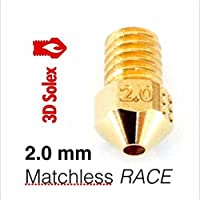 3D Solex UM2 Matchless Nozzle - 1.75mm Filament, 2.0mm RACE from 3D Solex