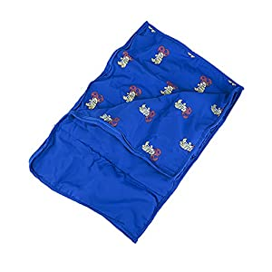 "Blue Sleeping Bag Accessories Teddy Bear Clothes Fits Most 14"" - 18"" Build-A-Bear and Make Your Own Stuffed Animals"
