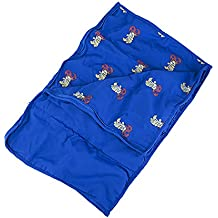 """Stuffems Toy Shop Blue Sleeping Bag Accessories Teddy Bear Clothes Fits Most 14"""" - 18"""" Build-A-Bear, Vermont Teddy Bears, and Make Your"""