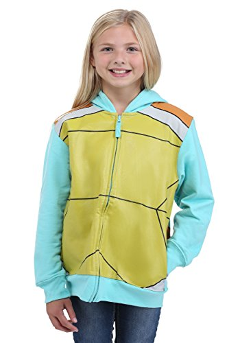 Pokemon Little Boys Squirtle Costume Hoodie, Blue,