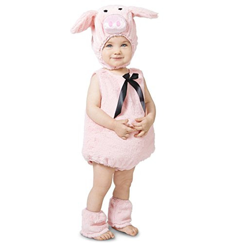 Farm Animal Costumes (Pink Piglet Toddler Costume 2-4T)