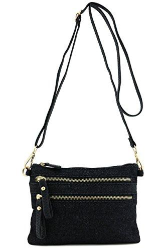 Zipper Closure Pockets Denim - 6