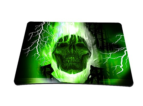 68 opinioni per Silent Monsters Tappetino mouse pad 22 x 18 cm, green skull