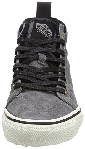 Adulte Vans pewter Mixte Sk8 Sneakers Mte Hautes Grey hi wool U rrqzw07