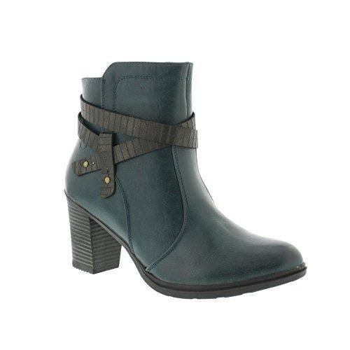 Stivali Da Donna Heavenly Feet Ritz 2 - Oceano (verde)