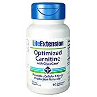 Life Extension Optimised Carnitine with GlycoCarn (60 Vegetarian Capsules)