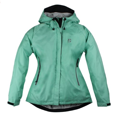 Red Ledge Women's Free Rein Parka Rain Parka,Cool Mint,X-Large -