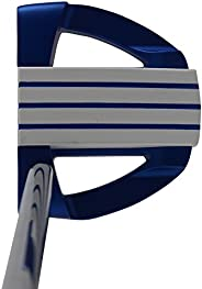 Bionik 701 Blue Golf Putter Right Handed Mallet Style with Alignment Line up Hand Tool 33 inches Senior Women&