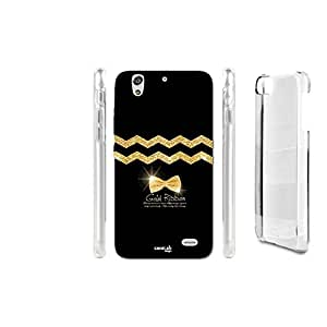 FUNDA CARCASA RIBBON GOLD PARA HUAWEI ASCEND G620S
