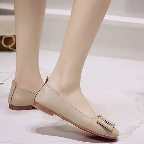 De Féminin Shoes En A Chaussures Boucle Automne Et Sport Printemps Casual Métal ROUUwTqC