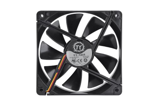 UPC 841163053614, Thermaltake Pure Series Cooling Case Fan CL-F005-PL12BL-A Black
