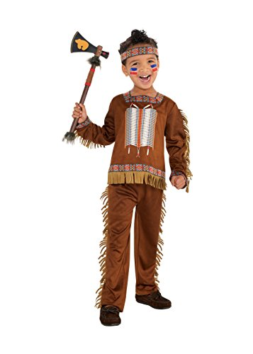 Toddler Boys Native American Costume (Toddler (City Party Halloween Costumes)