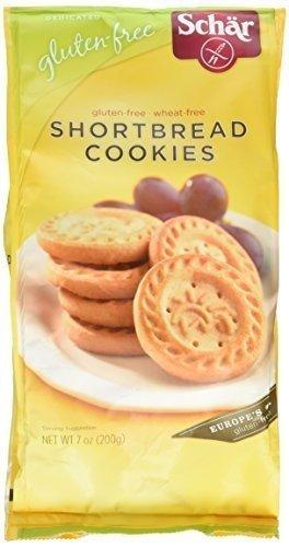 Schar Gluten-Free Shortbread Cookies, 7 Oz [12 Pack]