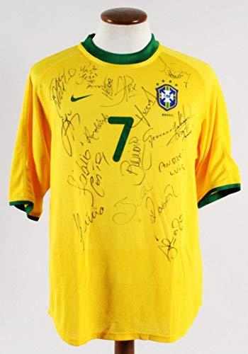 fb3ad8722f3 Ronaldinho Game-Worn Jersey Brazil Team-Signed 2000 Olympic Games Sydney -  COA - JSA Certified - Autographed Soccer Jerseys