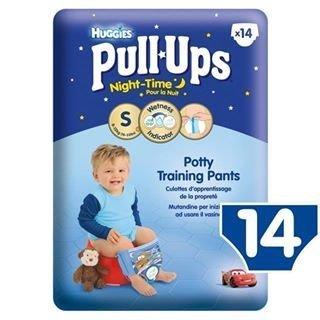 Huggies Small Pull-Ups Night-Time Boys14 per pack