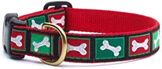 product image for Up Country- Christmas Bones Style Dog Collar-Large!!