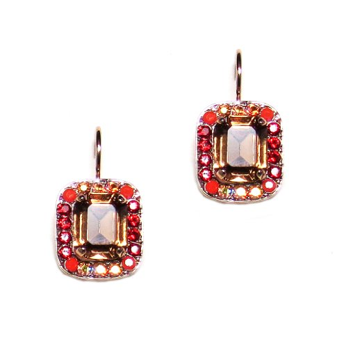 Mariana-Ring-of-Fire-Rose-Gold-Plated-Rectangle-Swarovski-Crystal-Drop-Earrings