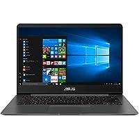"""ASUS ZenBook UX430UA-GV362T - Ordenador portátil de 14"""" (Intel Core i7-8550U, 8GB RAM, 256GB SSD, Windows 10 Home) metal gris - Teclado QWERTY Español"""