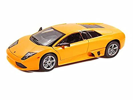 Amazon Com Lamborghini Murcielago Lp640 Orange 1 18 Scale Maisto