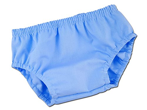 Juxby Kids Baby-Boy's Solid Baby Blue Diaper Cover (Solid Bloomers)