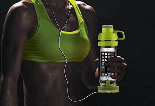 CIMBOO IPhone Sport Water Bottle Safe and Waterproof Mobile Phone Holder Design, (Phone Water)