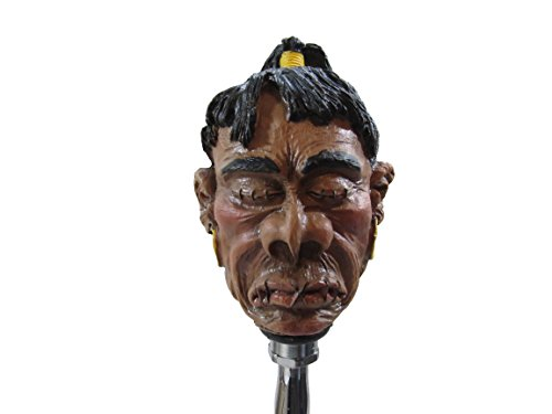 (Kool Collectibles Shrunken Head Hunter Shifter Shift Knob Rat Rod Lever)