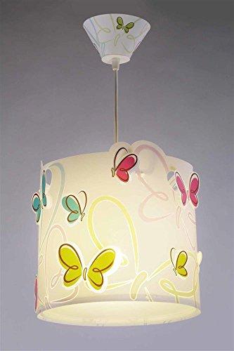 LED dimmbar warmweiß 1000lm Kinderzimmer-Lampe Schmetterling Hänge ...