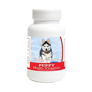 Healthy Breeds Puppy Multivitamin Chewable Tablets - Veterinarian Formulated Daily Dietary Supplement - Over 100 Breeds - Tasty Liver Flavor - 60 Chews 6