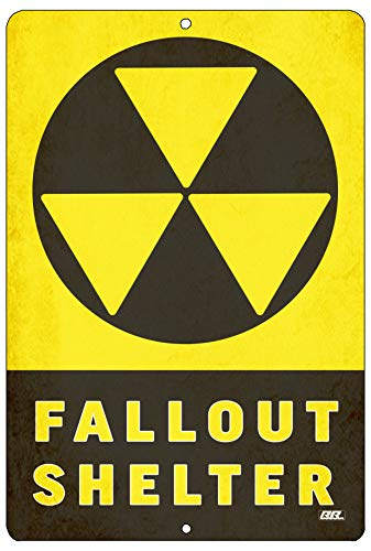 Fallout Shelter Sign - Rogue River Tactical Funny Warning Nuclear