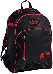 Franklin Sports MLB Batpack Bag - Perfect for Baseball, Softball, & T-Ball - Black