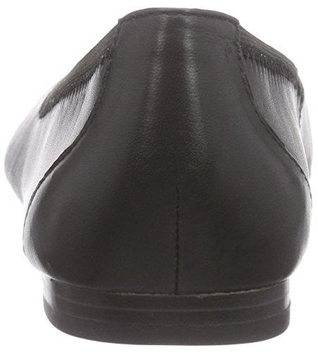 Caprice22100 - bailarinas cerradas Mujer Negro - Schwarz (Black Nappa 22)