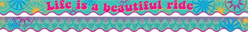 NEW! Double-Sided Border/Scalloped Edge - Bohemian
