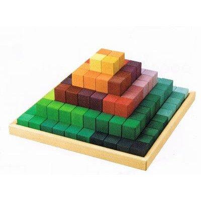 超人気新品 グリムス にじのステップブロック B00G33QY26 グリムス 木のおもちゃ 積木 積木 B00G33QY26, Awa-spo:8c944ca4 --- vezam.lt