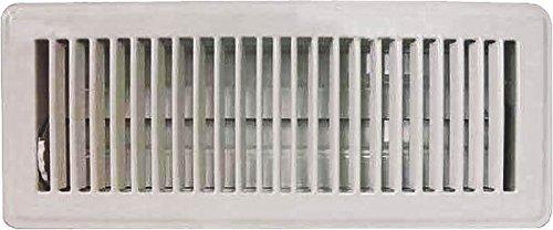 MINTCRAFT FR01-4X12W ProSource Floor Register, 4 In H X 12 In W, Steel 4