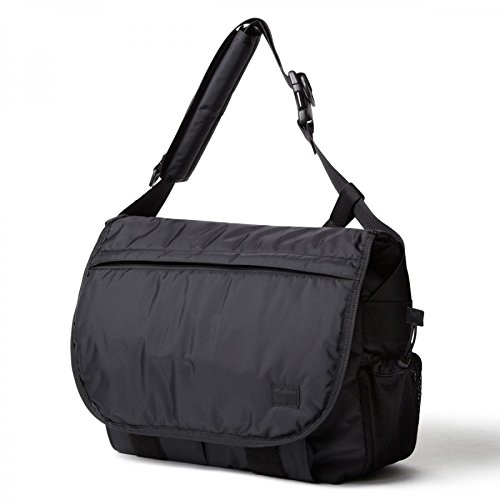 (ヘッドポーター) HEADPORTER BLACK BEAUTY LAPTOP MESSENGER BAG B01M26J76Nブラック