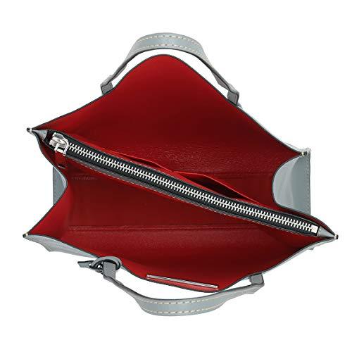 Talla nica de para asas mujer de Bolso Marc Jacobs Gris gris Cuero qw6PCvx
