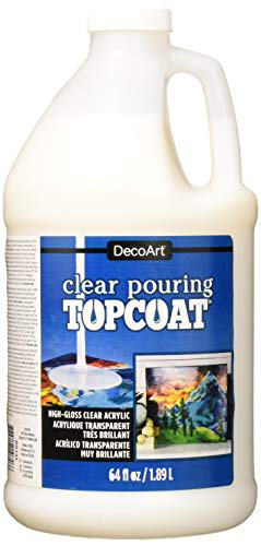 Decoart DS134-67 Clear Pouring Topcoat 64oz from DecoArt