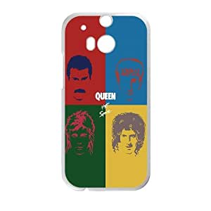 Queen Hot Space HTC One M8 Cell Phone Case White DIY GIFT pp001_8127551